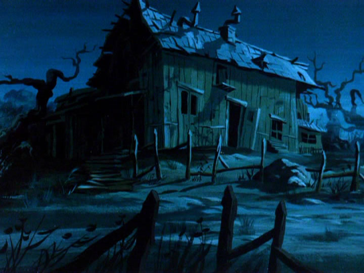 7scoobydoo - The Background Paintings of Scooby Doo Are Delightfully Creepy and Rather Beautiful