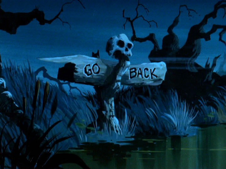 9scoobydoo - The Background Paintings of Scooby Doo Are Delightfully Creepy and Rather Beautiful