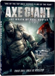 Axe Giant The Wrath of Paul Bunyan 2013 218x300 - DVD and Blu-ray Releases: May 2, 2017