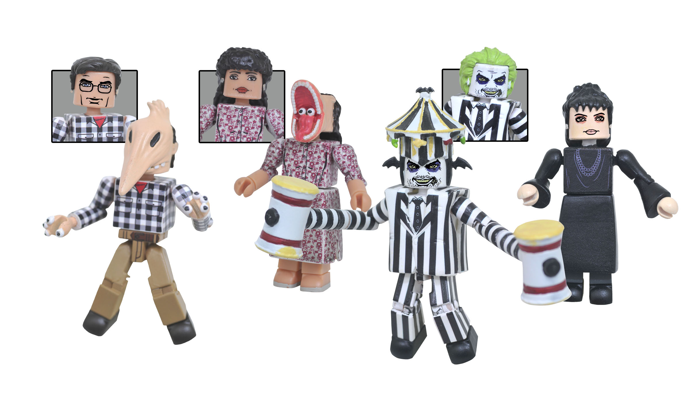 BeetlejuiceMMgroup - Get the First Look at Diamond Select's New Beetlejuice Figures