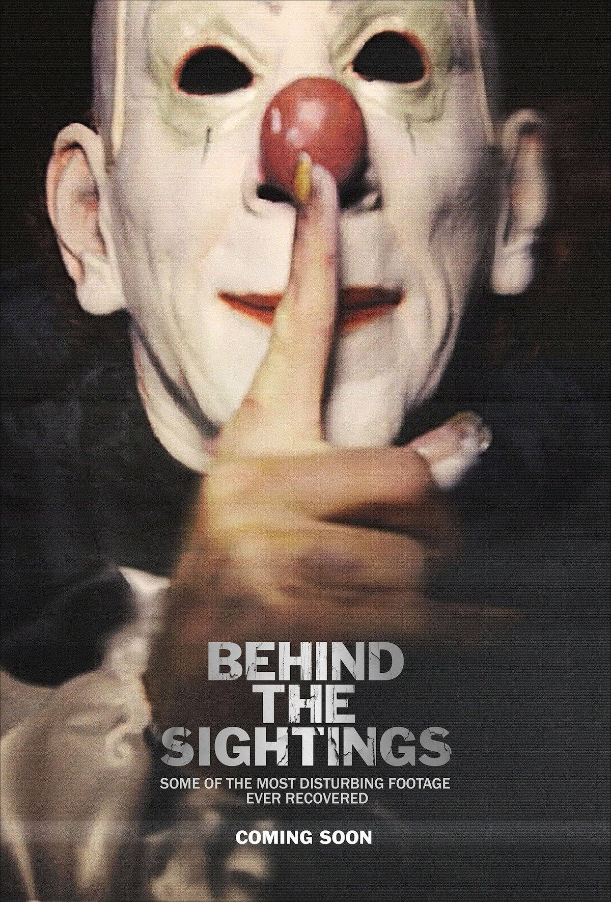 BehindTheSightings - Clown Sightings-Based Horror Film Behind the Sightings Acquired by Tommy V Films
