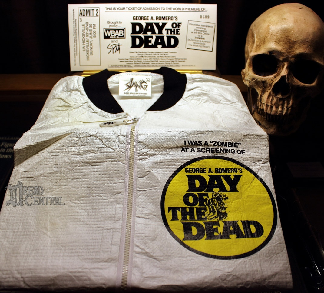 DOTD Jacket and ticket - Horror History: Day of the Dead - Fan Corrects Official Premiere Date