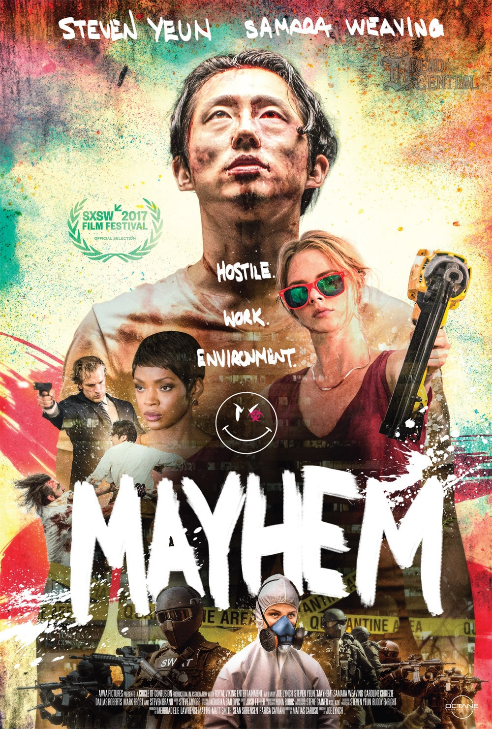 Mayhem - RLJ Entertainment and Shudder Are Bringing a Hefty Dose of Mayhem!