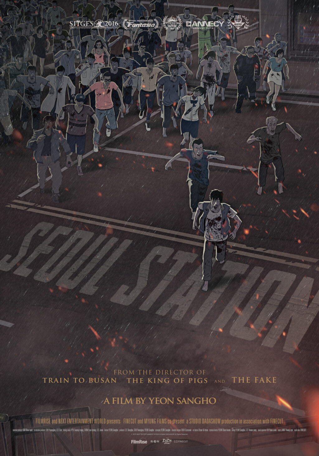 SEOUL STATION Intl poster 1024x1464 - Seoul Station, the Animated Prequel to Train to Busan, Coming to iTunes Next Week