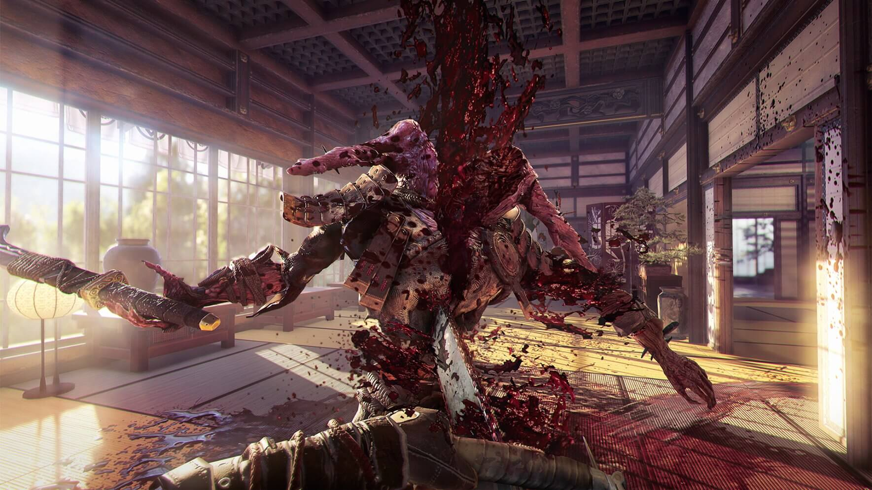 Shadow Warrior 2 Screen 3 demon chainsaw 1 - Shadow Warrior 2 Finally Hitting Consoles on May 19; PS4 Version Will Include 2013 Shadow Warrior Game