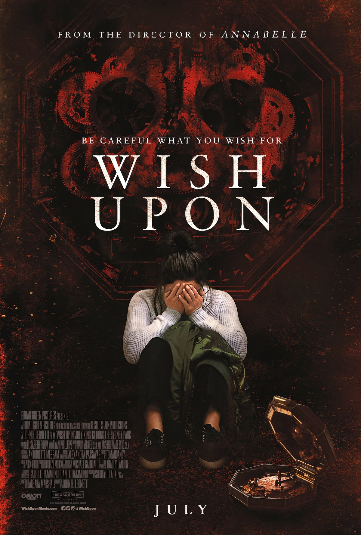 WishUpon FinalPoster - Wish Upon Director's Cut Features 11 Minutes of Additional Footage