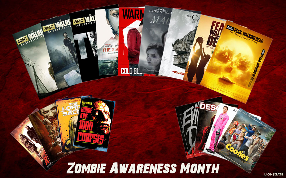 Zombie Awareness Month
