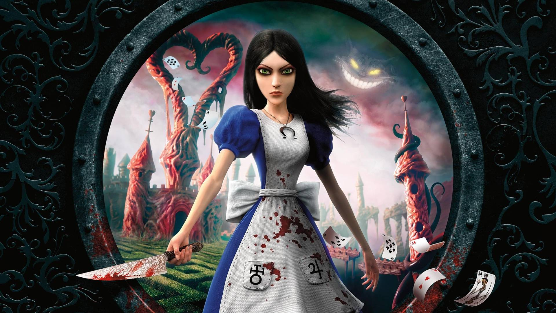 alicemadnessreturnsposter - American McGee Uploads Rare Animatics From Alice: Madness Returns
