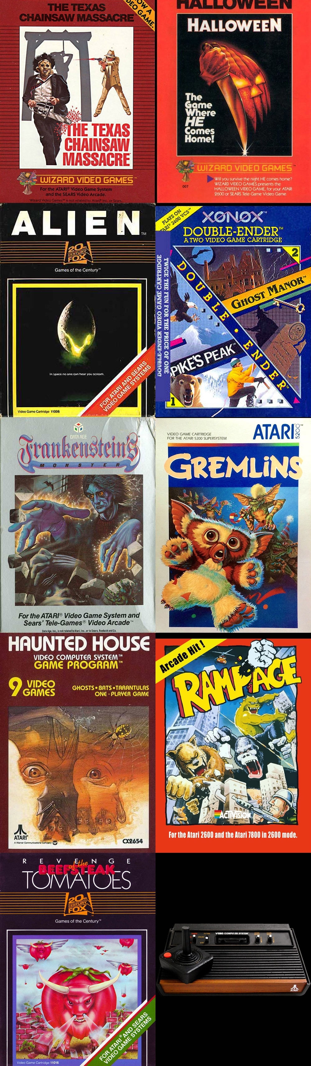 atari 2600 horror - 9 Spooky Horror Atari 2600 Games That Are Worth a Damn