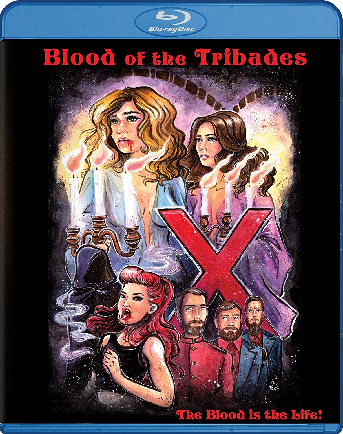blood of the tribades - Eyegasm: The Best and Worst Home Video Cover Art - 5/2/17