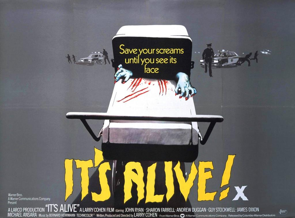 itsalivebanner - Larry Cohen Reveals That James Gunn Wanted to Remake It's Alive!