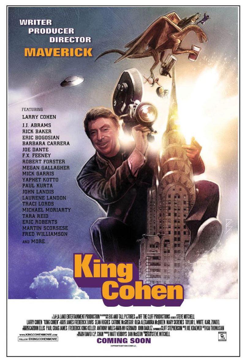 kingcohen - Larry Cohen Talks His Career Overall, Hanging Out with Hitchcock, Maniac Cop, and More!
