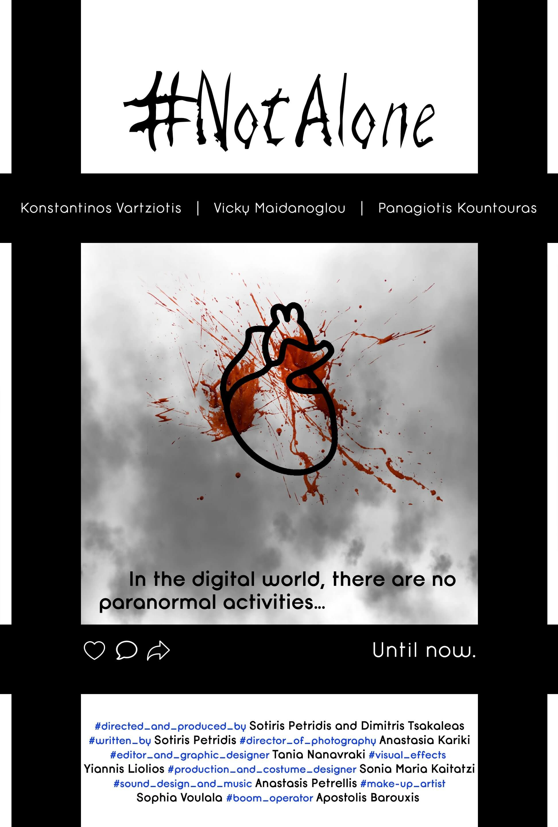 not alone3 1 - Watch Now: Social Media Horror Short #NotAlone