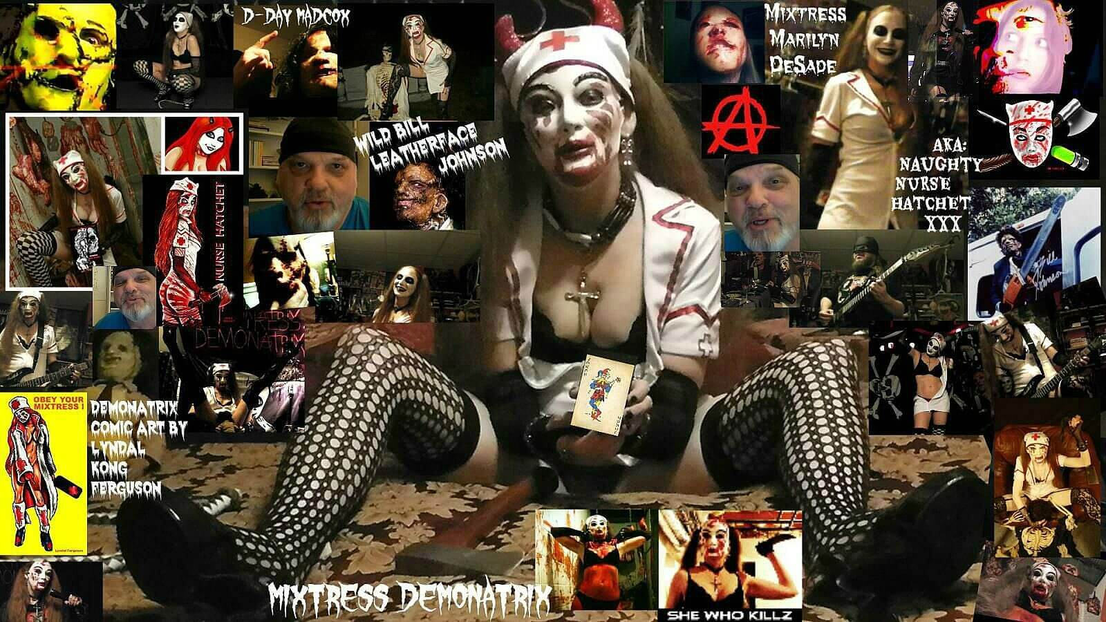 nurse hatchet bill johnson interview2 - Wild Bill Leatherface 2 Johnson and Naughty Nurse Hatchet Unleash the Monsterpiece: B.O.H.I.C.A. Bend Over Here It Cums Again