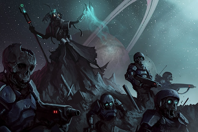 Exclusive Sci Fi Rpg Starfinder Announces Undead Planet