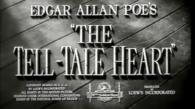 poetelltaleheartbanner - Poe's Tell Tale Heart Gets Another Adaptation