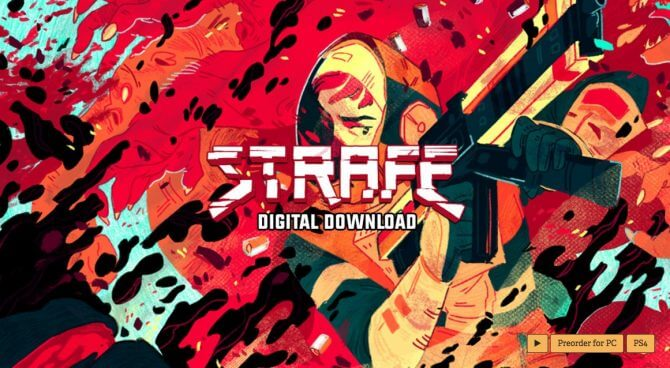strafe collectors edition 1 - Strafe Gets an Ultraviolent Live Action Launch Trailer