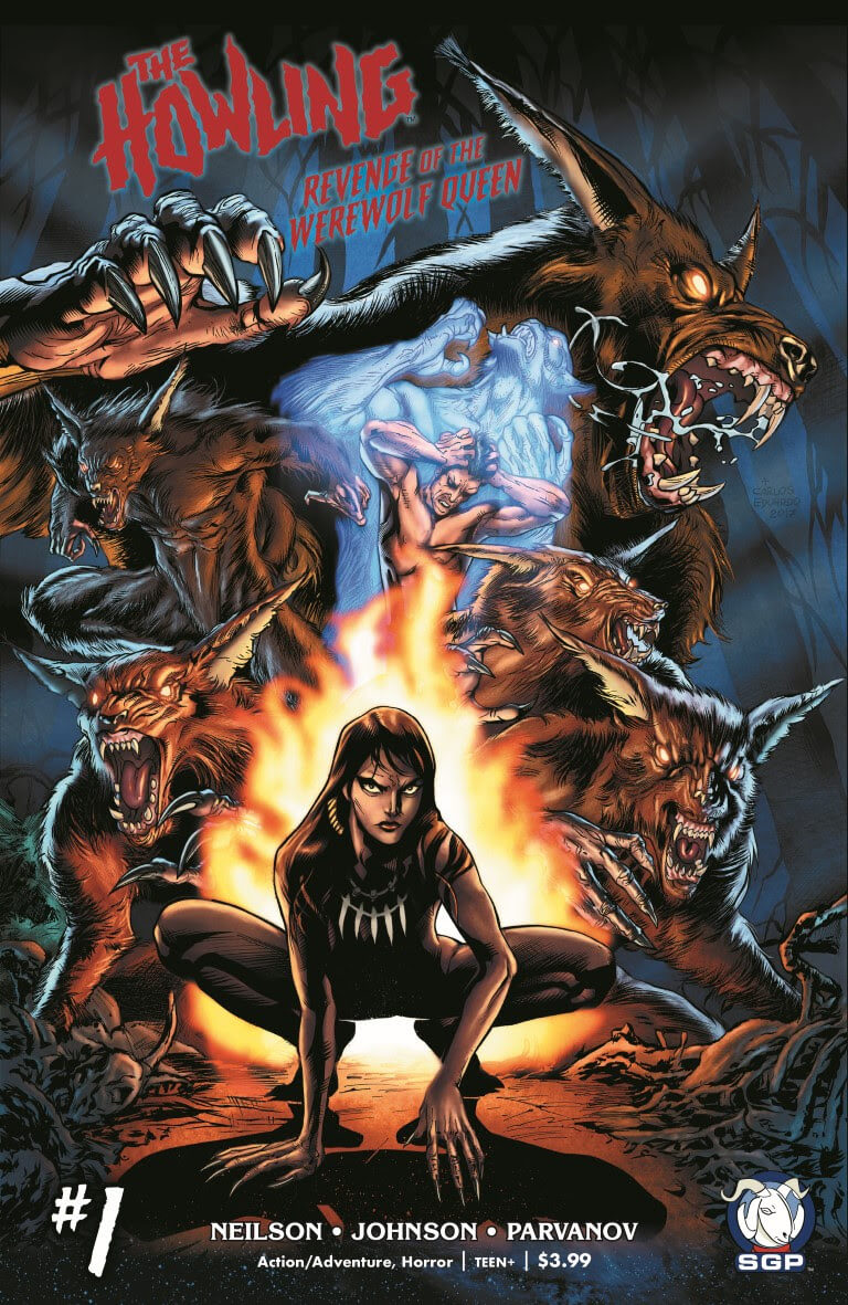 The Howling: Revenge of the Werewolf Queen Covers Unveiled ...