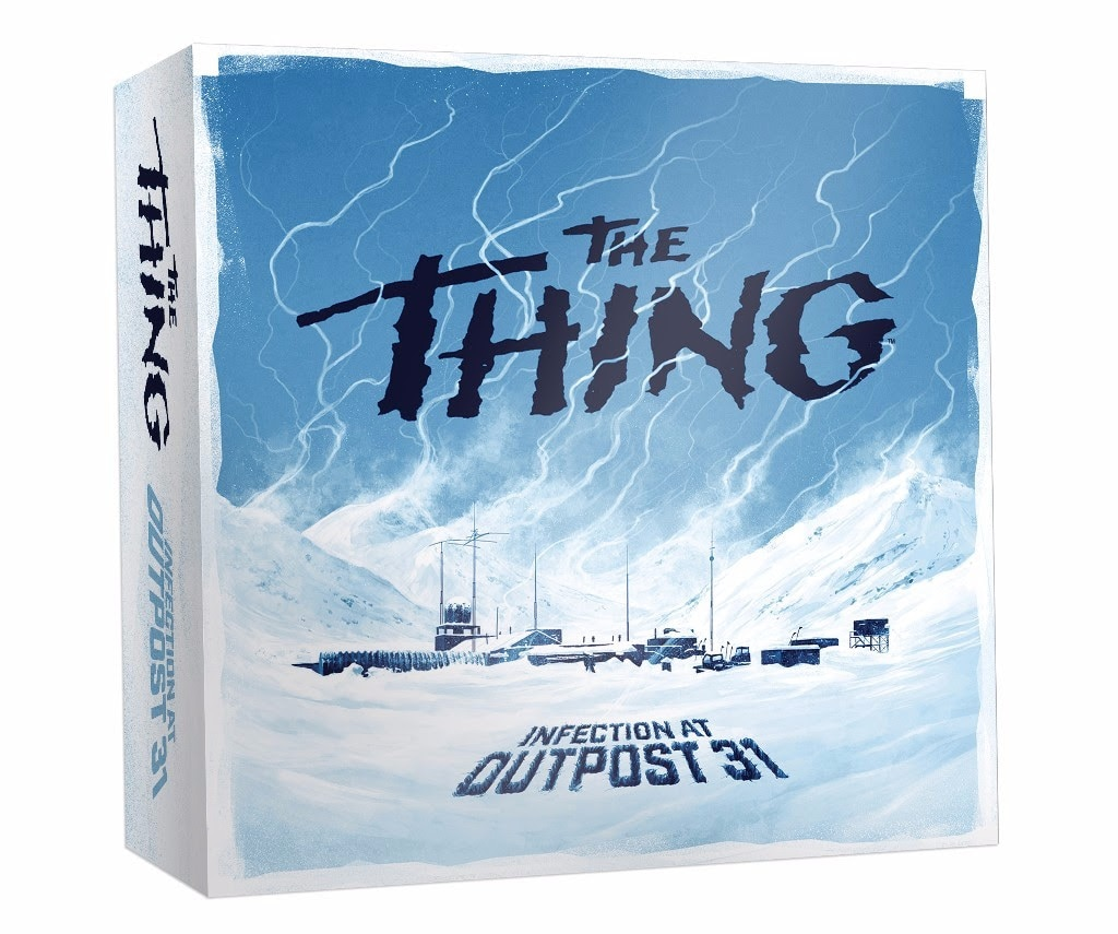 thethingboardgame1 - #SDCC17: Get Up Close and Personal with Mondo's The Thing: Infection at Outpost 31