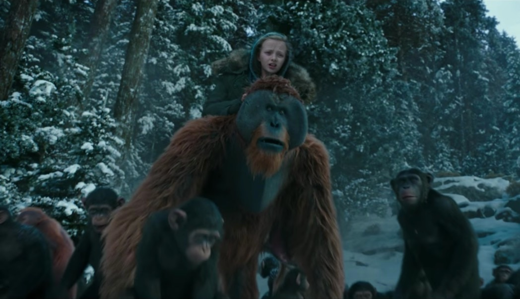 warfortheplanetoftheapesfinaltrailerbanner - There's Going to Be a Planet of the Apes Triple Feature Screening