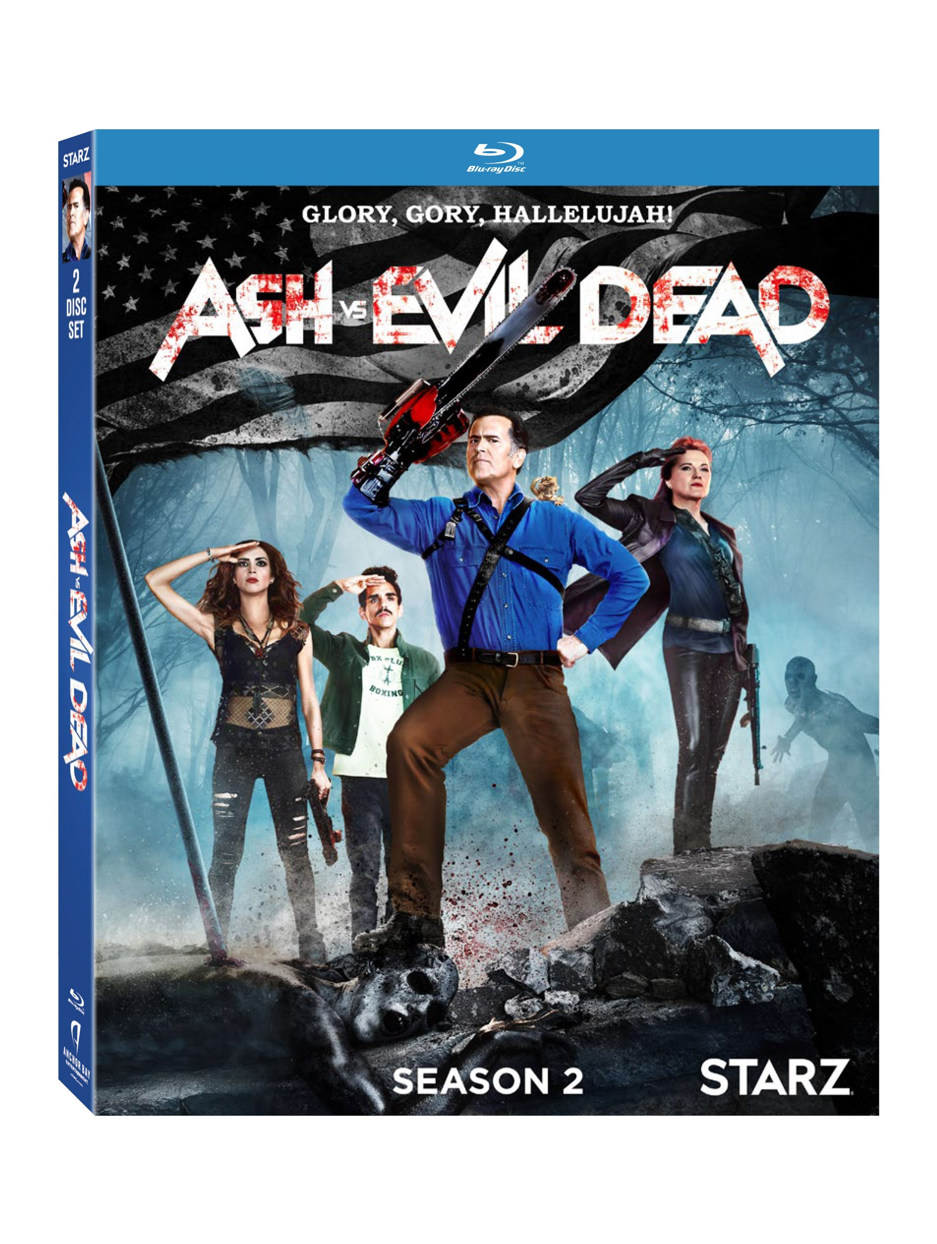 AVED 3D BD O CARD - Exclusive: The Cast and Crew of Ash vs. Evil Dead Discuss the Infamous Delta