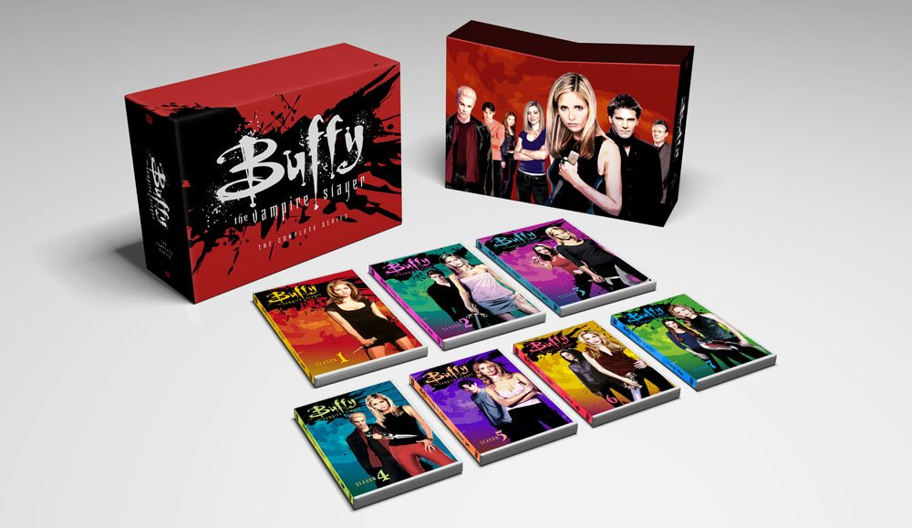 BuffyCompleteSeries Beauty 2 - #SDCC17: Buffy the Vampire Slayer: 20 Years of Slaying Fan Event Announced; Funko Reveals Buffy Rock Candy Line