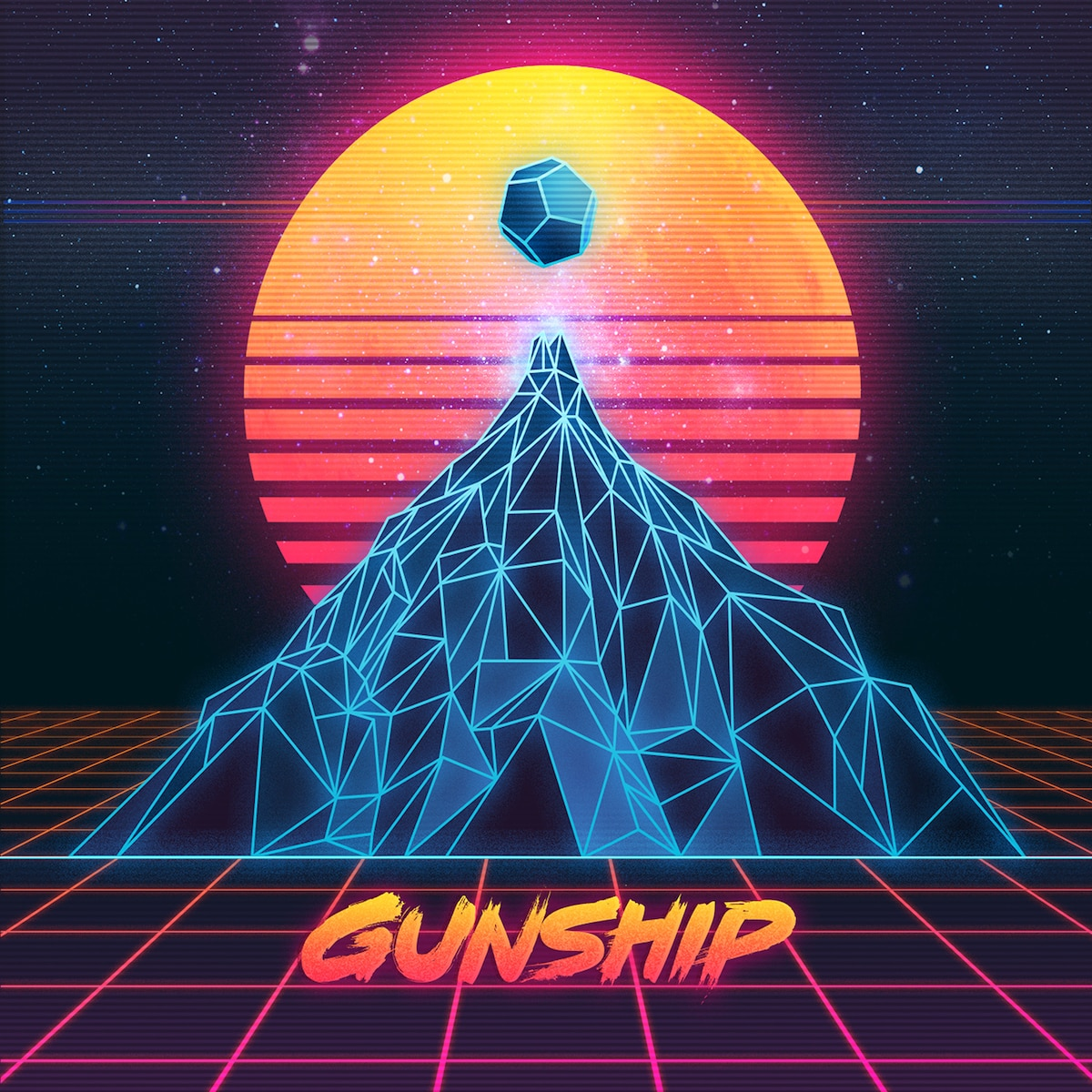 Gunship Cover - Exclusive: Gunship Dishes on the Rise of Synthwave Popularity, a New Album, and Stranger Things
