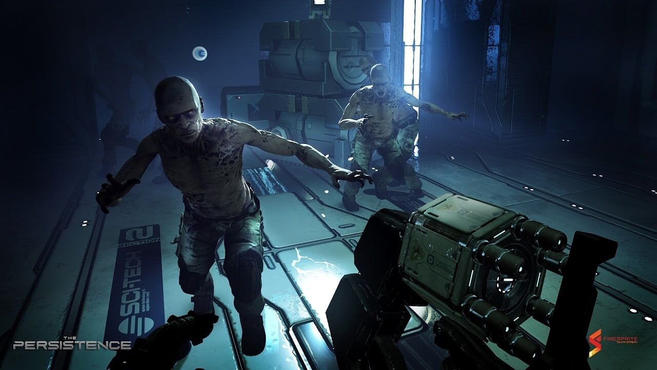 THE PERSISTANCE SPACE ZOMBIE 1 - E3 2017: Hide From Space Zombies in The Persistence