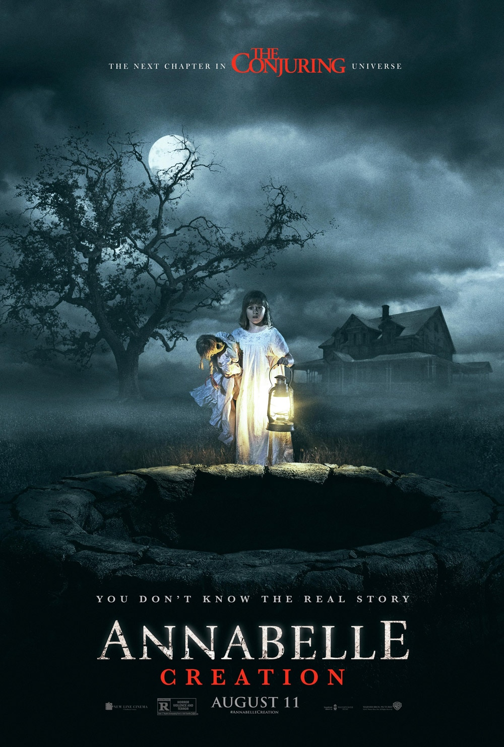 annabelle creation poster - Annabelle: Creation - Exclusive Interview with Director David F. Sandberg