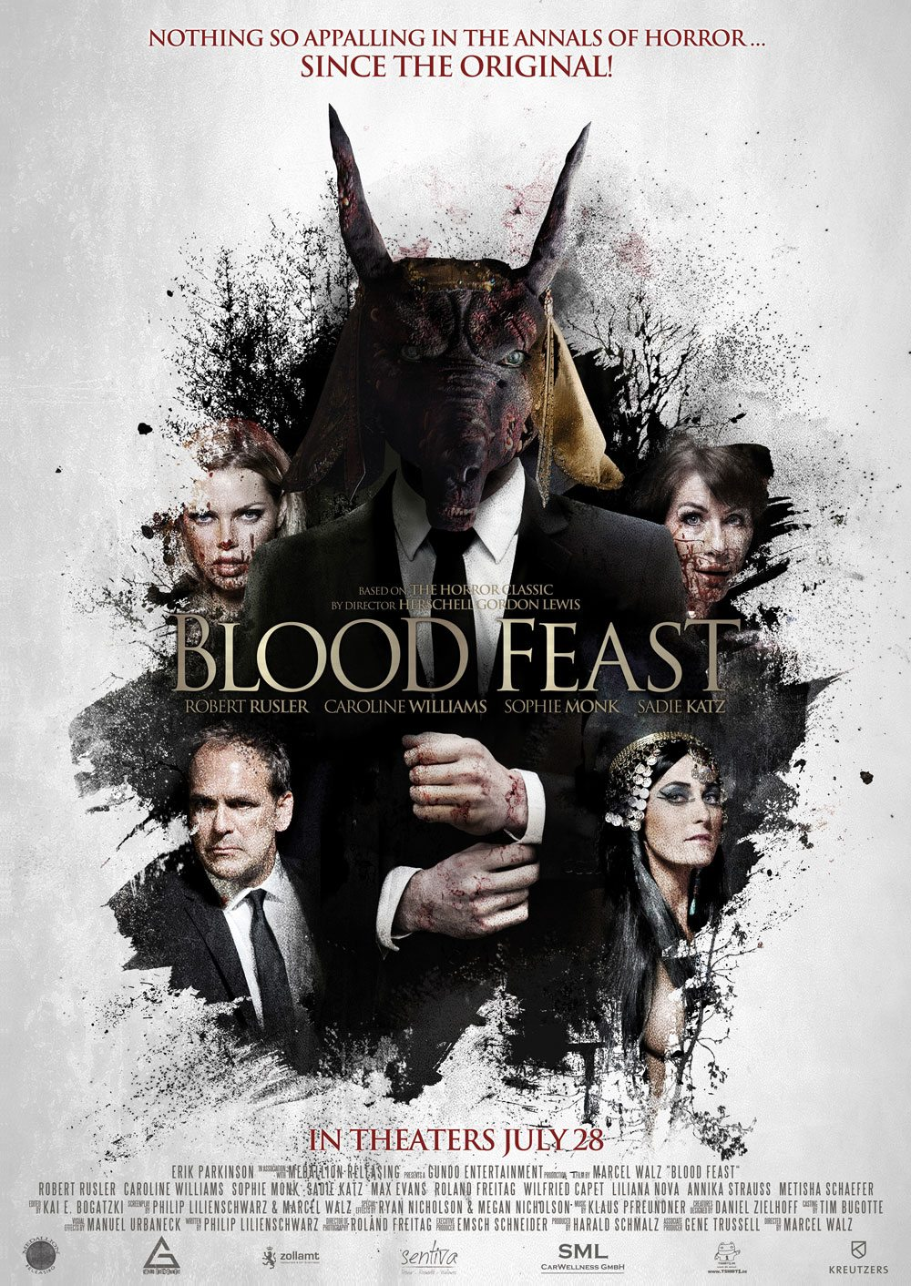 blood feast newposter - Blood Feast Remake Gets a New Rating and Date for its Theatrical Release