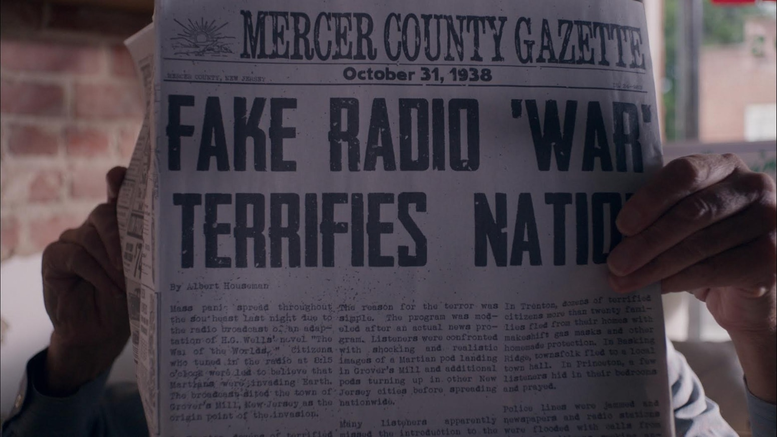 bravenewjerseybanner - Brave New Jersey Takes Us to Night of the War of the Worlds Radio Broadcast