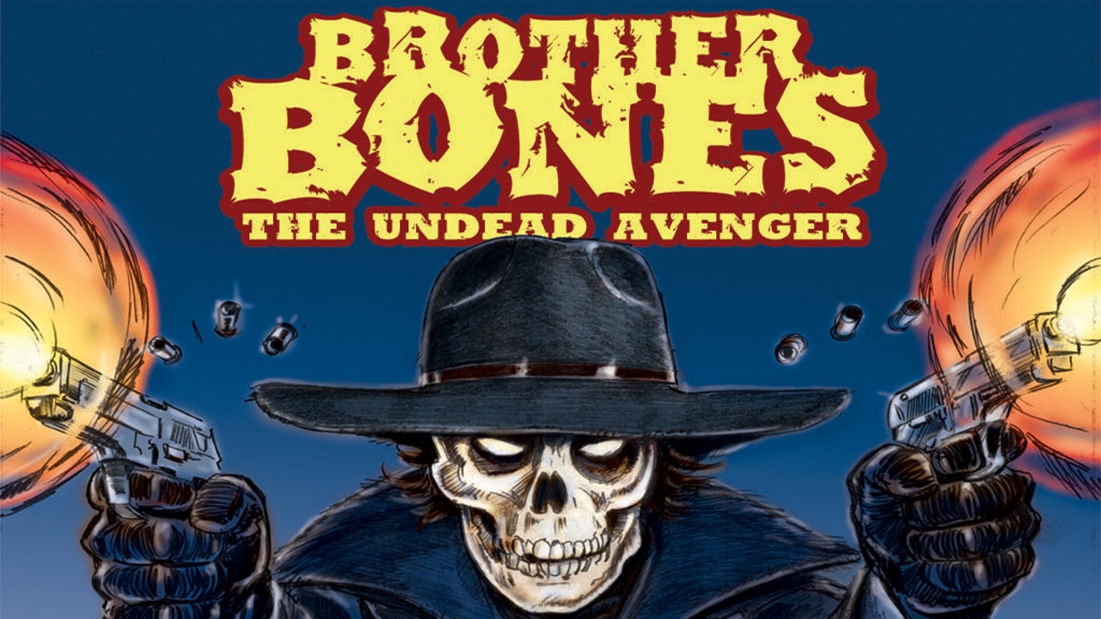brotherbonesbanner - Ron Fortier's Brother Bones: The Undead Avenger Aiming to Become a Live-Action Film