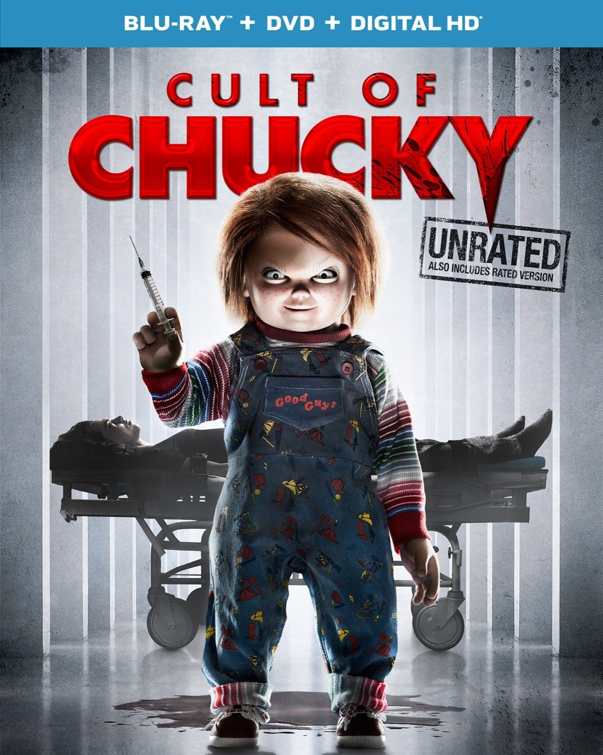 cult of chucky blu ray - Cult of Chucky - FX Designer Tony Gardner Speaks! Exclusive Behind-the-Scenes Video and Images!