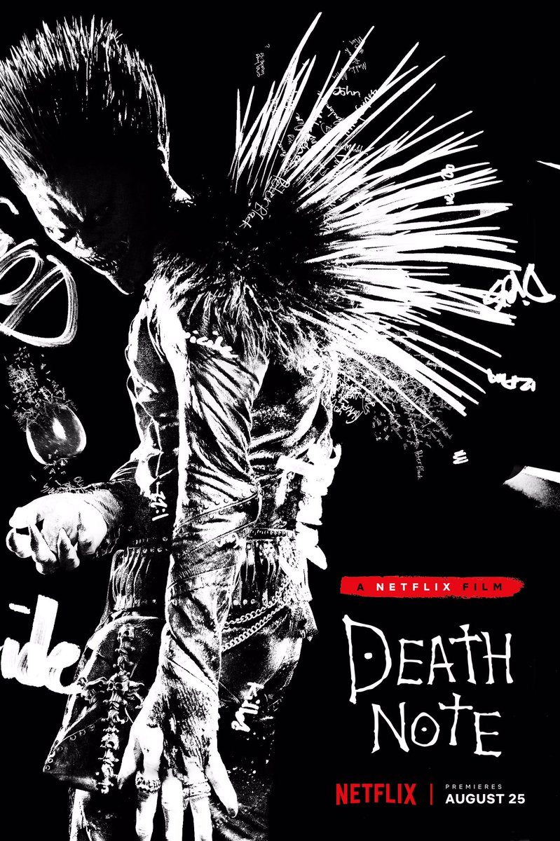 deathnoteryukposter - Death Note Reacts to Death Note