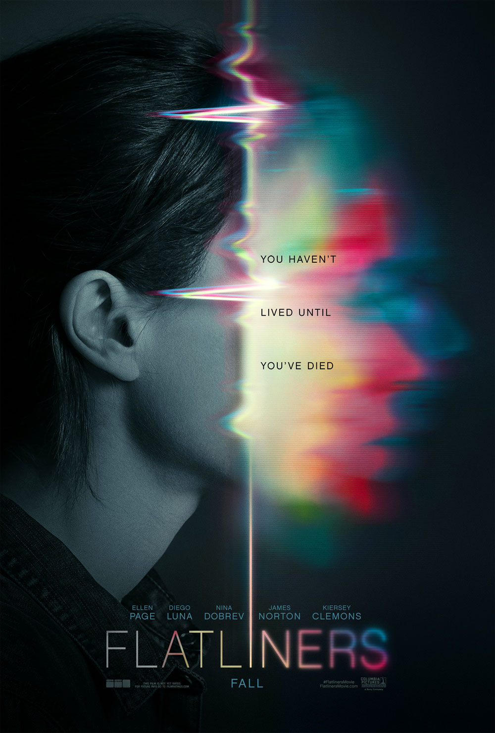 flatliners poster - Flatliners - A Pair of Posters to Keep Your Heart Beating