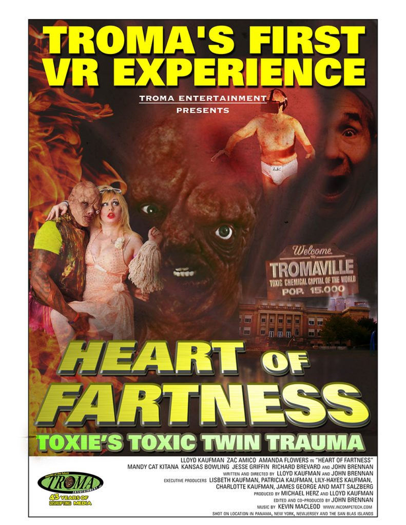 heart of fartness 2 791x1024 - Troma's First VR Film Heart of Fartness Will Be Screening Tomorrow and You Can Attend For Free