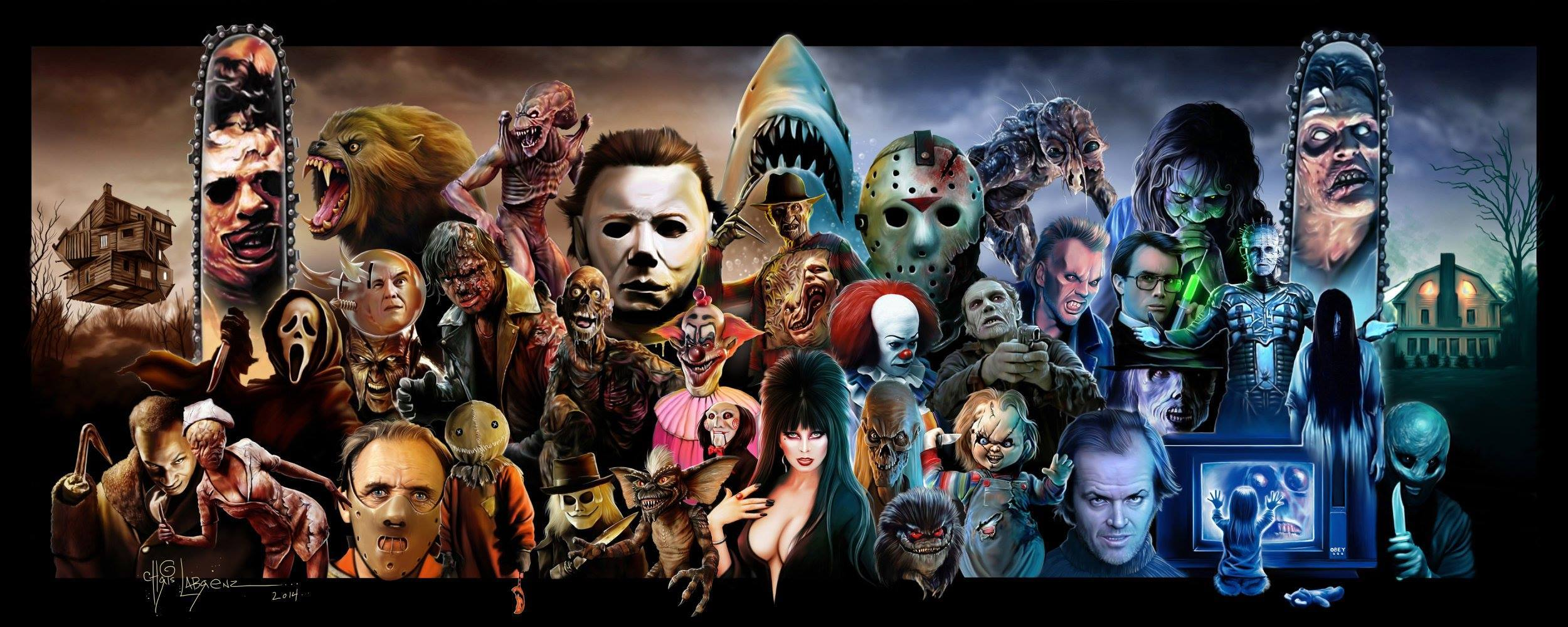 horrorcollage - Here Are Some of Your Favorite Horror Performances