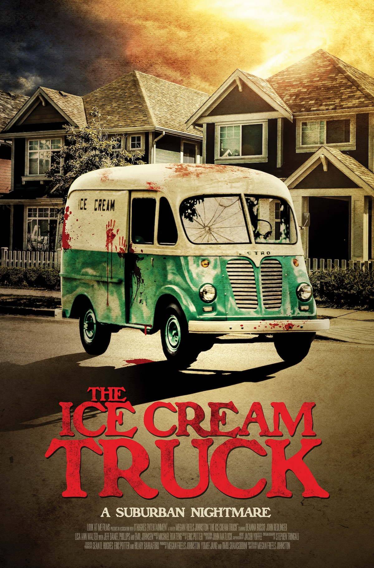 icecreamtruckposter 1 - The Ice Cream Truck Pulls Up and Hands Out Images