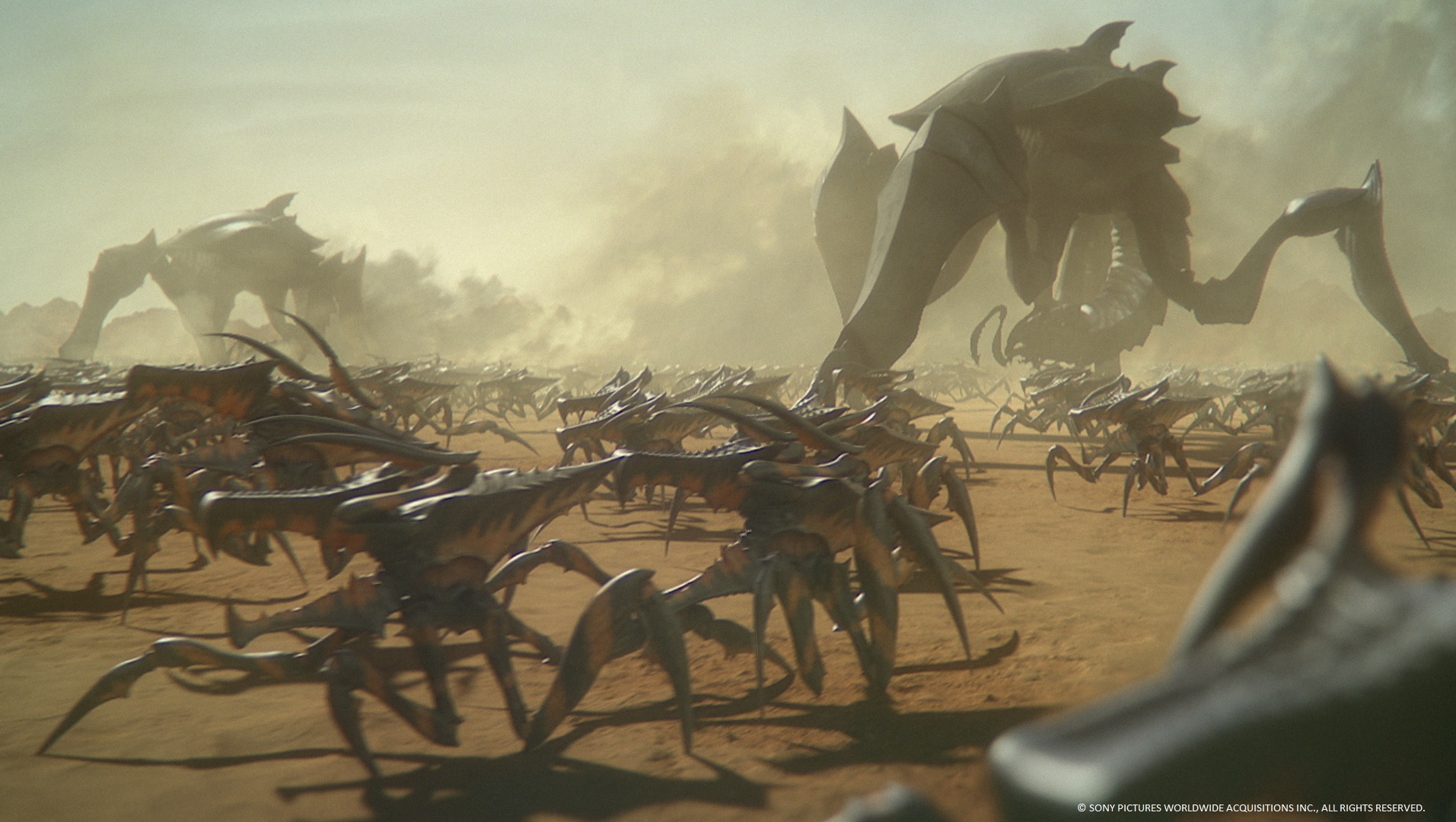 Starship Troopers: Traitor of Mars Trailer Teases the ...