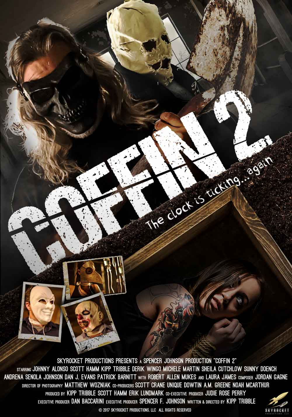Coffin 2 - Coffin 2 - First Poster and Trailer Creak Open