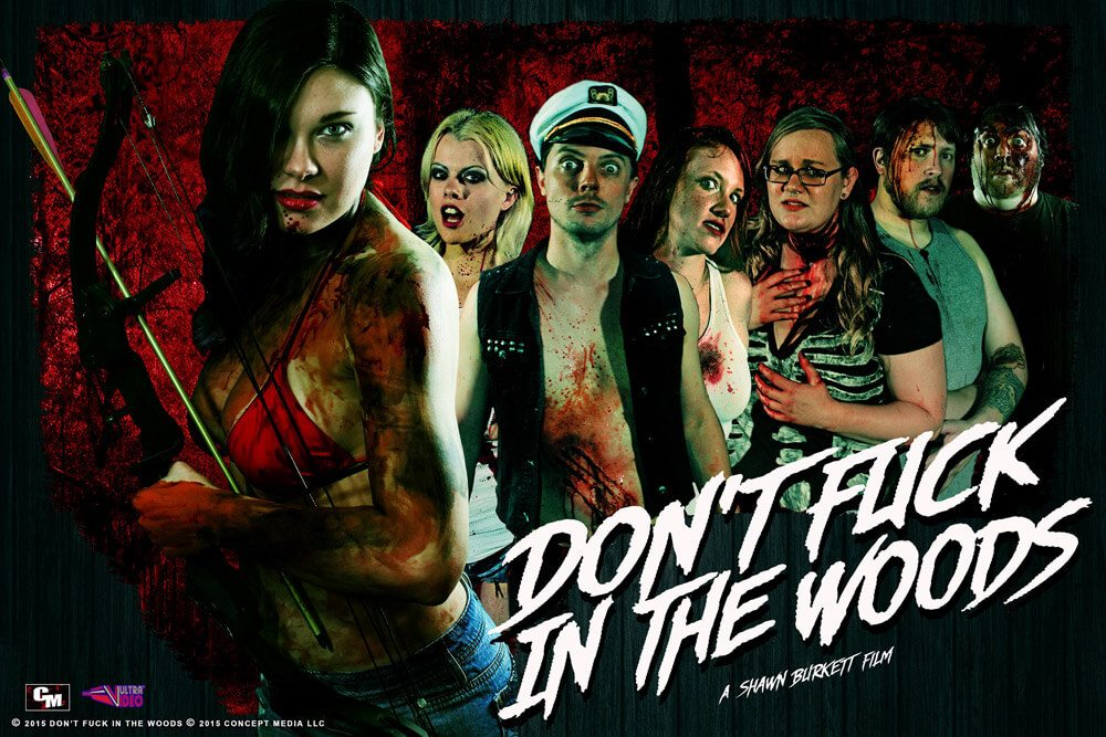 Dont Fuck In The Woods Cast poster 1 - Don't F**k in the Woods Finds a Home at Gravitas