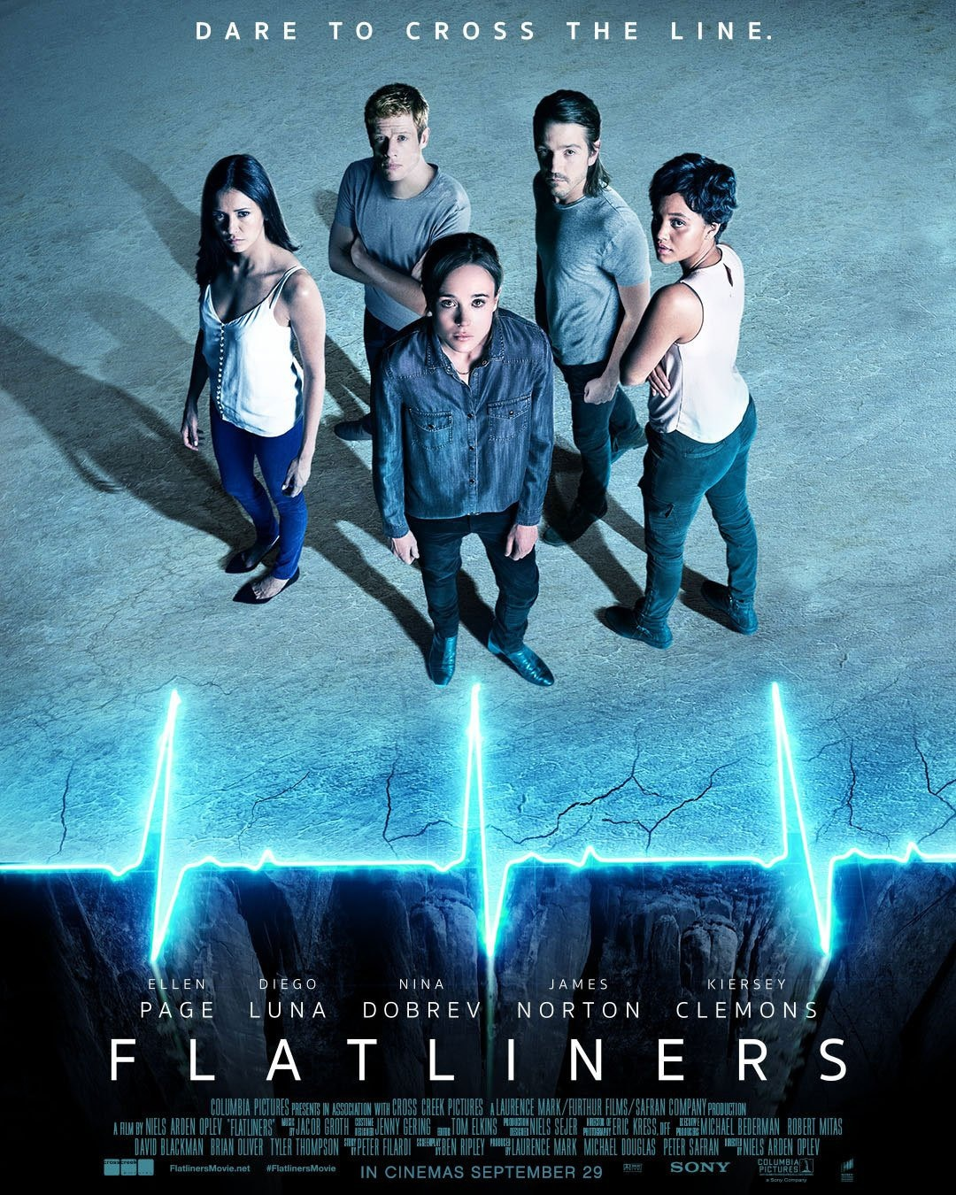 Flatliners poster 1 - Flatliners - A Pair of Posters to Keep Your Heart Beating