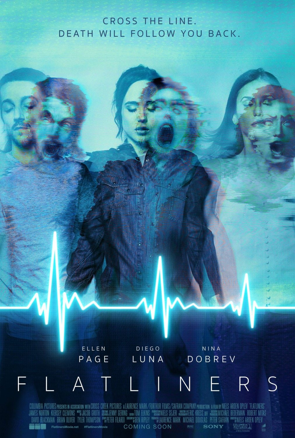 Flatliners poster 2 - Flatliners - A Pair of Posters to Keep Your Heart Beating