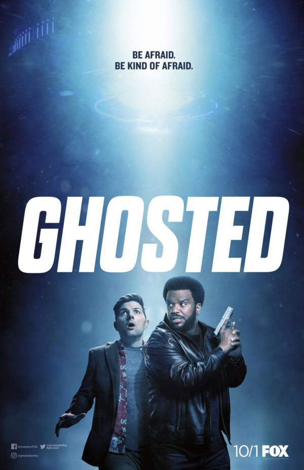 Ghosted poster1 - This Ghosted/The X-Files Mash-up Video Is Just What We Need on Monday!