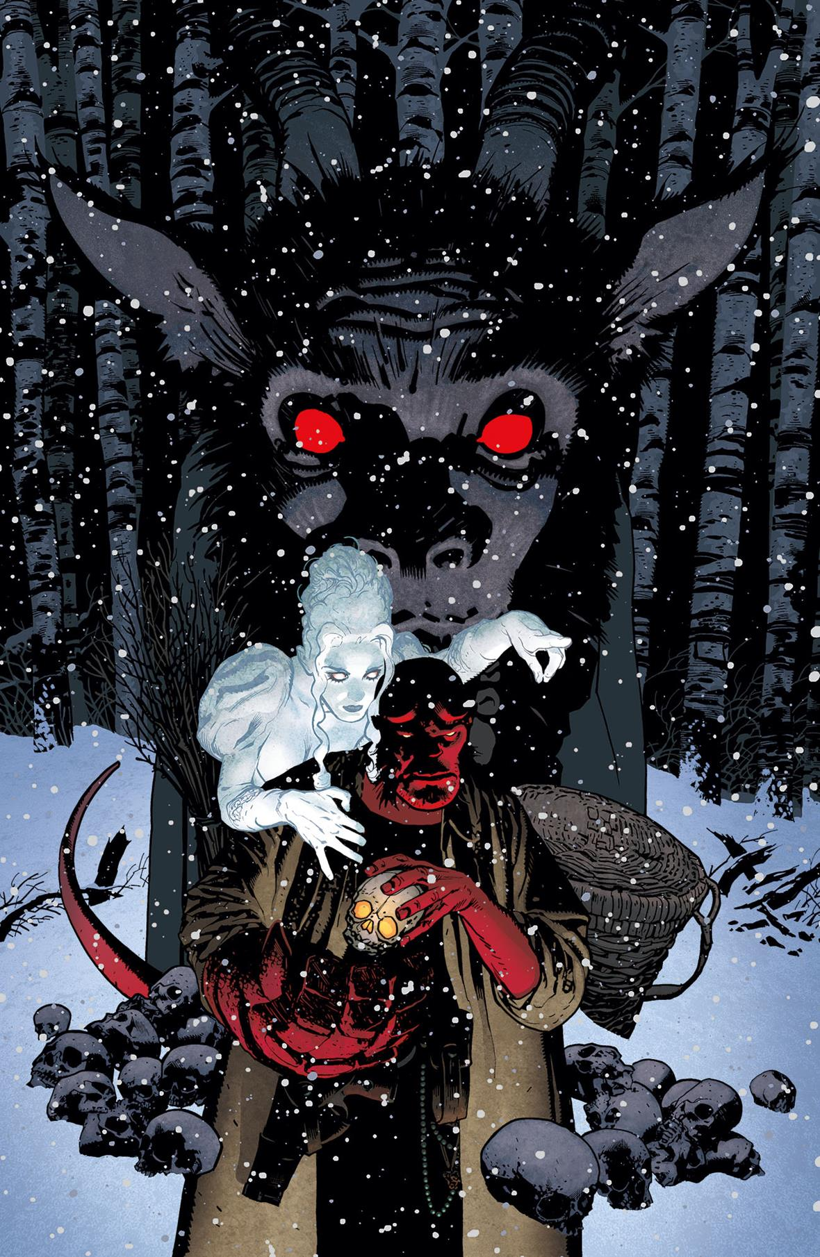 HBYKRMPFCFNL 084043 - Exclusive Preview of Mike Mignola and Adam Hughes' Hellboy: Krampusnacht