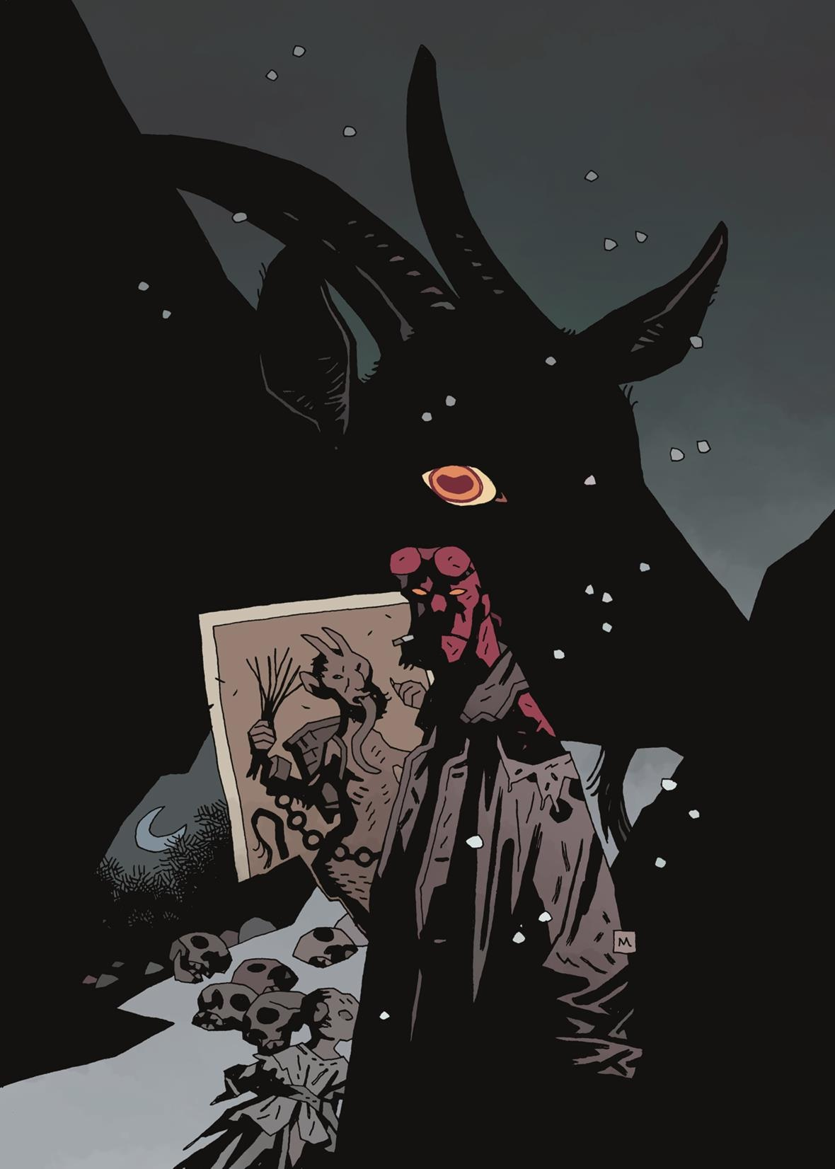 Hellboy Krampusnacht - Exclusive Preview of Mike Mignola and Adam Hughes' Hellboy: Krampusnacht