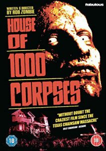 House of 1000 Corpses poster 212x300 - Fright-Rags Announces New HOUSE OF 1000 CORPSES Collection!