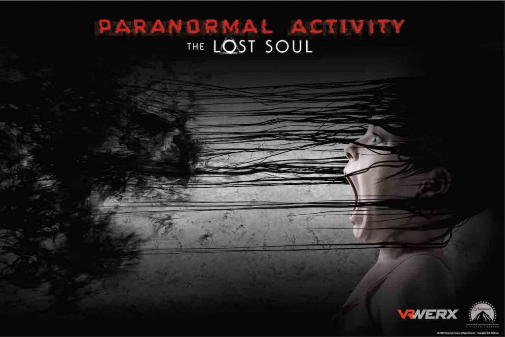 Paranormal Activity The Lost Soul poster 1 - Paranormal Activity: The Lost Soul Launch Trailer Delivers VR Chills