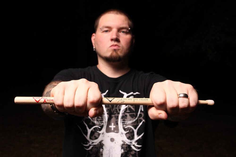 Rocky Gray 1 - Exclusive: Evanescence's Rocky Gray Talks Volumes of Blood: Horror Stories