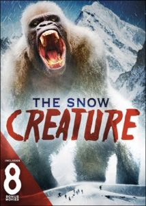 Snow Creature The Includes 8 Bonus Movies 214x300 - DVD and Blu-ray Releases: July 4, 2017
